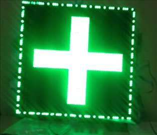 Apotekarski krstovi - crveni i zeleni