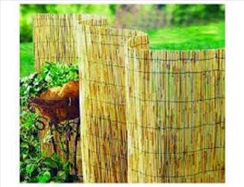 Ograda od trske 1,5 x 5 m