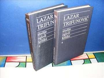 Studije, Ogledi, Kritike 1-2  Lazar Trifunović