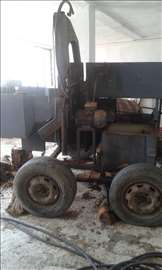 Mašina za cepanje i sečenje drveta