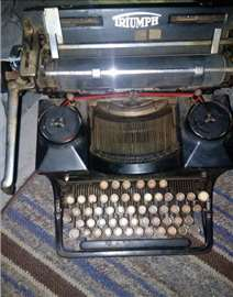 Triuph masina 1927,