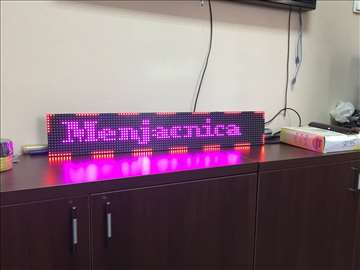 LED display reklame sa trčećim slovima