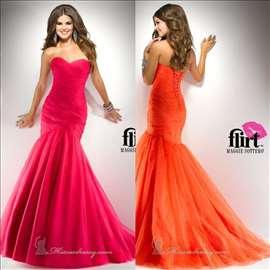 Pink maturska haljina