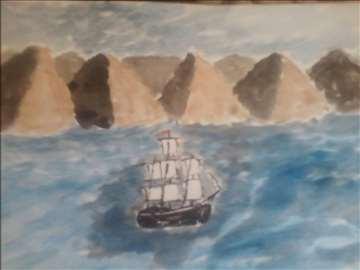 piramide i jedrenjak
