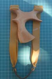 Praćka za lov sa duplim Theraband gold gumama