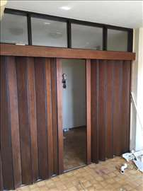 Harmonika vrata - drvena