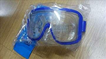Maska za plivanje plava