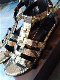 Sandale od zmijske kože De Robert