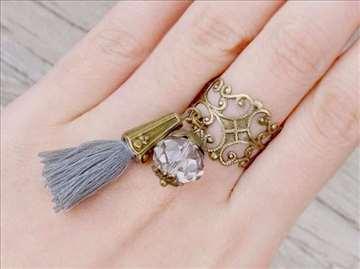 Boho Antik prsten