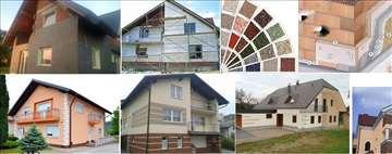 Krečenje, gletovanje, fasade, rigips
