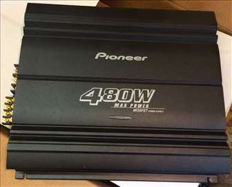 Auto pojačalo - Pioneer GM-6000F