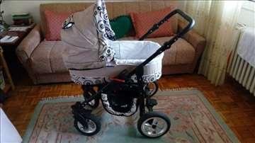 Kunert Silver kolica za bebe set 3 u 1