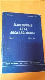 Macedoniae Acta Archaeologica broj 9