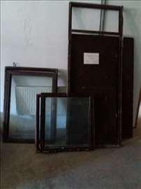 Prozor jednokrilni - crna bravarija 1,05 x 1,00m