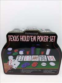 Poker Texas hold em poker set 200 poker čipova