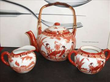 Japan - Exluziv set za čaj - rukom oslikan