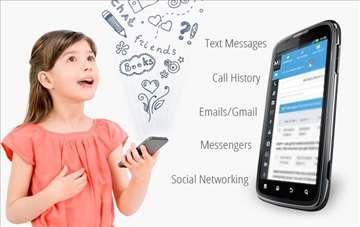 Program u vidu sms poruke za uvid u rad mobilnog t