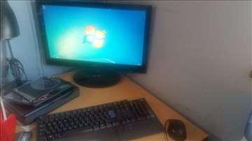Računar, monitor, tastatura i miš!!