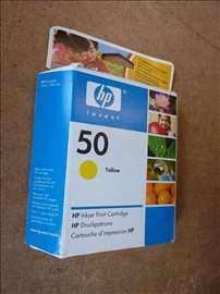 Kertridz HP 50 zuti, nov u originalnom pakovanju