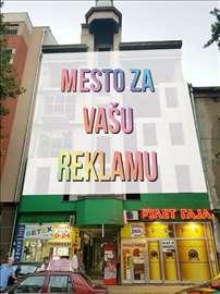 Mesto za vašu reklamu centar Novog Sada