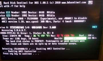 Hard disk Seagat 250gb SATA ispravan 100posto