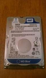 "Hard disk 2,5"" Seagate i WD 500gb SATA ispravan"