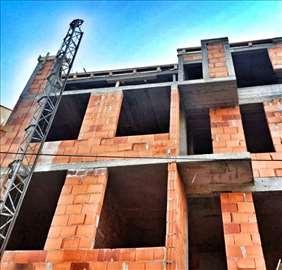 Izvođenje svih vrsta građevinskih radova