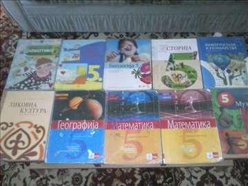 Knjige za 5, 4, 3, 2 i 1. razred osnovne škole