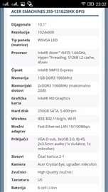 Acer e machines 355 10,1