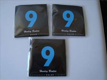 3 x HB 009 Guitar Strings NOVO+Free PTT