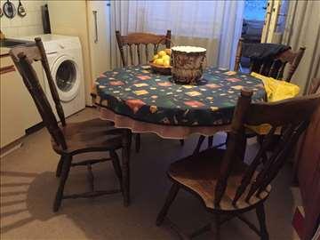 Rustični trpezarijski sto