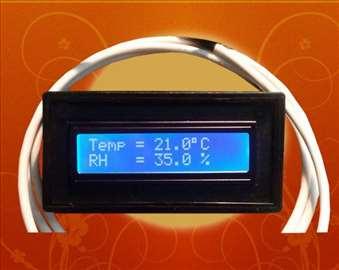 Vlagomer i termostat za inkubator V5.0