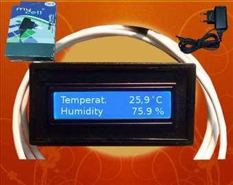 Vlagomer i termostat za inkubator V5.1