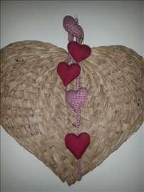 Vel. srce sa manjim platn. srcima