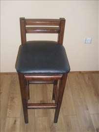 Barske stolice od punog bukovog drveta 2500 din