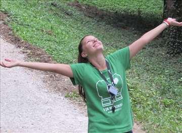 I JA SE BORIM, unisex majica, zelena