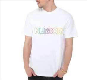 NURDOR muška majica, bela