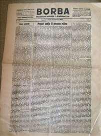 Prvi broj Borbe iz 1922.