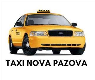 Taxi Nova Pazova - 00 - 24h - sigurno i povoljno