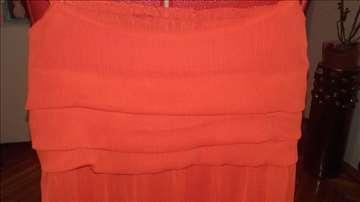 Crvena balon haljinica, S