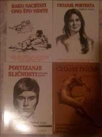 Povoljno 4 knjige o vestinama crtanja