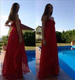 Duga haljina od svile