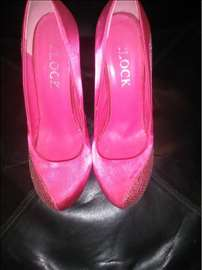 Prelepe roze cipele sa cirkonima
