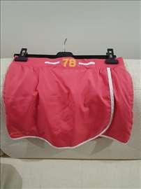 Roze suknja/šorts