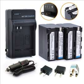 Baterija NPF970-2 kom + Punjač