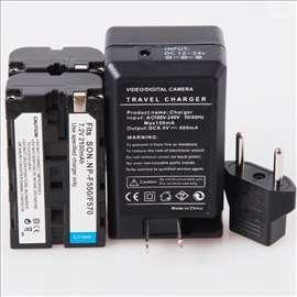 Baterija za Sony NP-F550/570 + Punjač