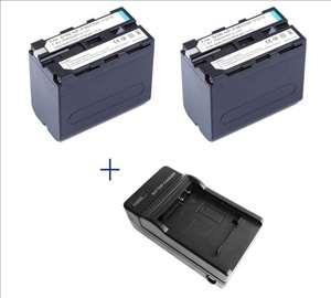 Sony NP-F960/970 6600mAhx2 + Punjač