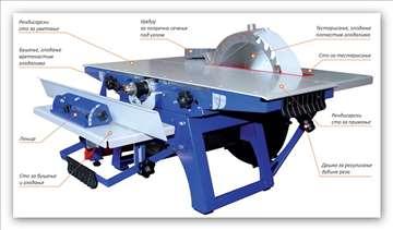 Mašina za obradu drveta Belmash 2500