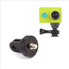 1/4 inch Mini Tripod Mount Adapter for GoPro Hero