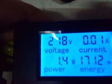 Ampermetar /voltmetarAC 80-260V 0-20A
